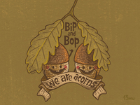 Bip&Bop in brown :)