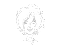 Blondie Sketch