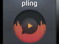 Pling Play Button