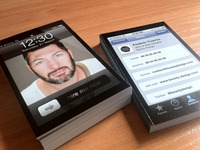 Real Inspired iPhone Business Cards