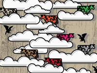 Cows In Clouds