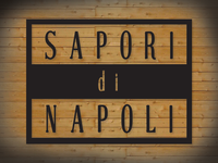 Sapori Square Logo Wood