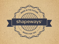 Shapeways Stamp