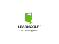 Learngolf Logo Design