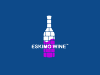 Eskimo Wine Logo Design
