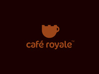 Café Royale Logo Design