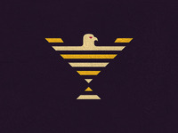 Eagle Holy Grail Logo Design