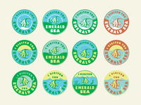 Emerald Sea stickers