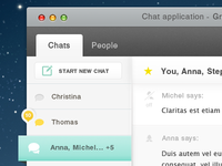 Part of universal chat app for all OS
