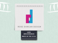 Rose Duncan Design site logo