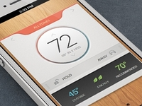 iPhone ThermoStat App