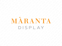 Maranta Display Proposal A