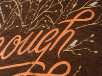 Sevenly Enough Is Enough Closeup