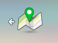 Back to Map Icon
