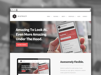 District WordPress Theme