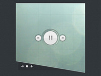 Soundcloud Audio Player Concept