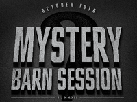 Mystery Barn Session No 1 (2012)