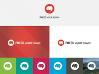 FHEED YOUR BRAIN MARK/LOGO
