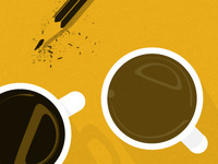 Homepage coffee Illustration