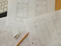 App Sketch Wireframe