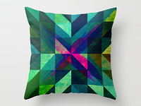 X Marks the Spot Pillow