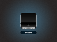 iPhone 4 iOS icon