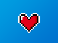Today, tell your love with pixels