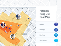 HangOut / Heat Map