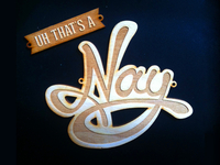 snapshot of the lasercut nay
