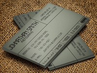 LCD - A Photographer's Business Card