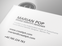 Creatiph's Business Cards