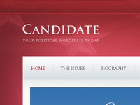 Candidate- Political Wordpress Theme