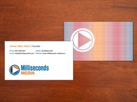 Milliseconds Media Business Cards