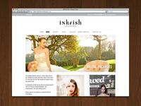 Inkfish - Website screenshot