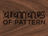 Elements Of Pattern - Alternate Logo