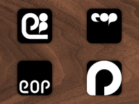 Elements Of Pattern - iOS App icon designs