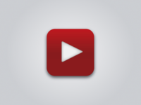 Simple YouTube iOS Icon