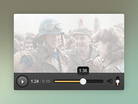 Minimalistic video player