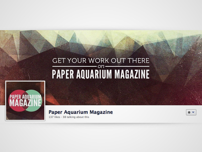 Paper Aquarium Facebook Cover