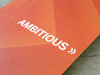 University of Texas : Ambitious brochure