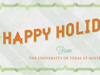 Holiday email banner