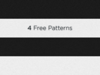 4 Free Patterns for download