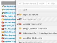 Redesign Forum: Before/After