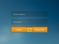 Rebound: login or register