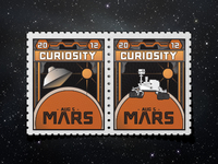 Stamps from OUTTEEER SPAAAAAACE!