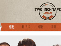 Two Inch Tape Website
