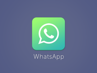 iOS 7 - Whatsapp