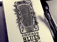 Chicago Blues Fest 2012 Design