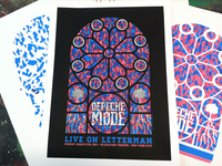 Depeche Mode Screen Print