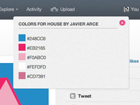 Dribbble Color Picker Bookmarklet